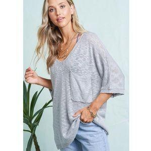 Off Shoulder Lounge Sweater